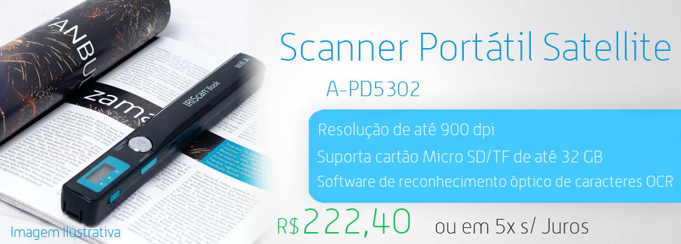 scanner portatil-satelite usb a pd530